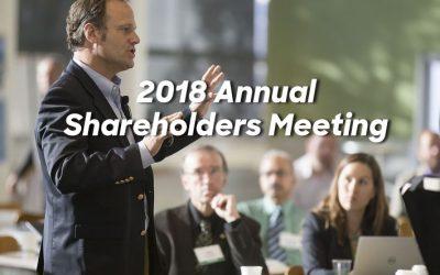 2018 Annual Shareholders Meeting