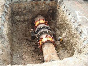12‐inch Water Line Repair